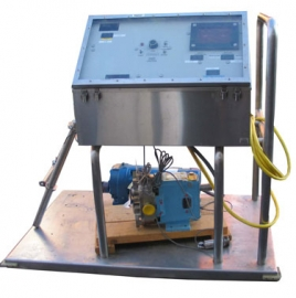 Microgen System with Waukesha Sanitary Lobe Pump