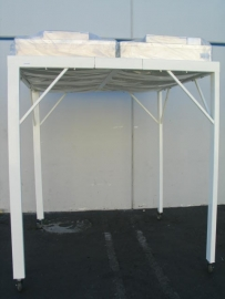 Mobile Clean Room 6 feet by 6 feet with NEW Envirco Hepa Filters