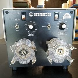 Ionics Peristaltic Pump with Masterflex Heads