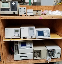 Assorted Waters Chromatography HPLC Components