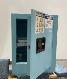 Justrite Corrosive/Acid Storage Cabinet, 4 Gallons