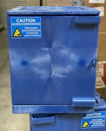 Uline Corrosive/Acid Storage Base Cabinet, 24 Gallons