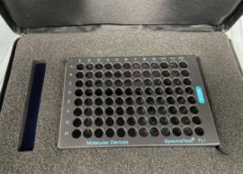Molecular Devices PN 0200-5060 SpectraTest FL1 Fluorescence Validatation Plate
