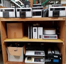 Assorted Pharmacia Chromatography FPLC Components